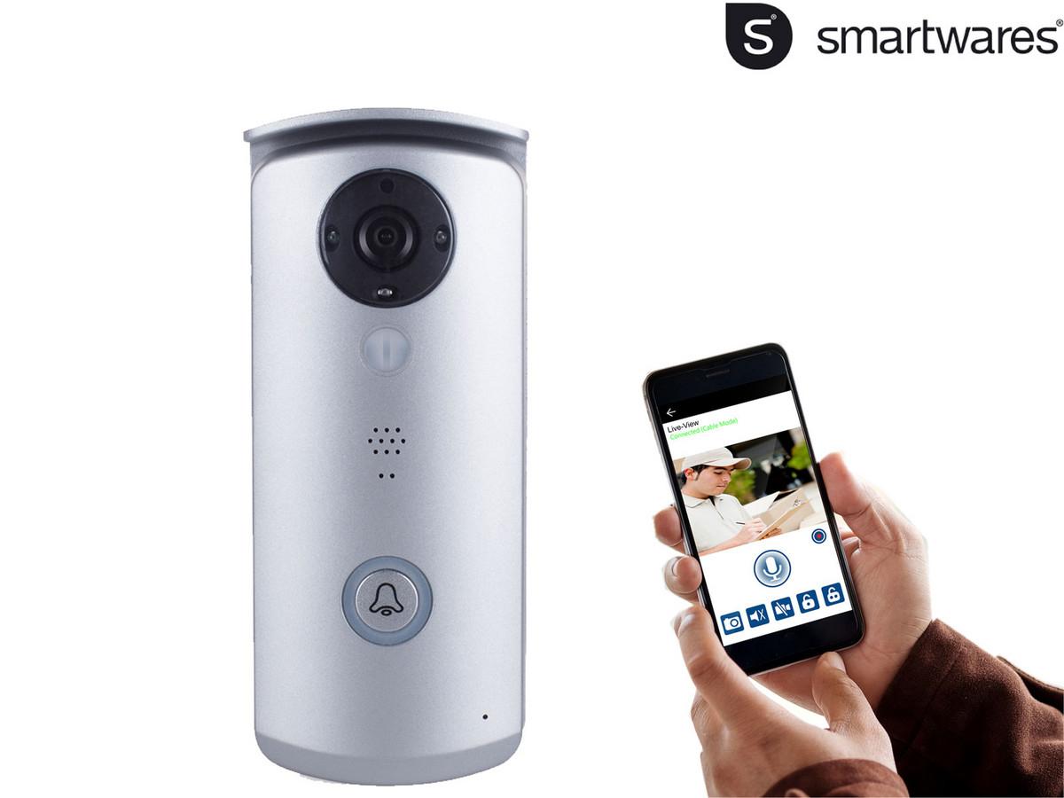 Smartwares VD40W Gegensprechanlage mit Video für die Haustür