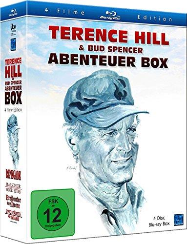 Terence Hill & Bud Spencer - Abenteuer Box (Freibeuter der Meere, Marschier oder stirb, Zwei Fäuste für Miami, Renegade)
