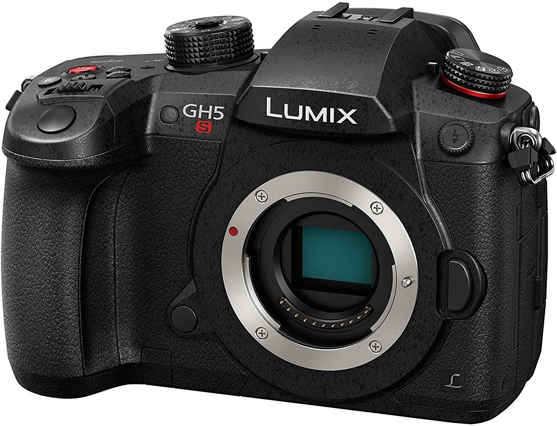 Panasonic Lumix DC-GH5S schwarz Gehäuse (10.3 MP, Live MOS Sensor, spiegellos, ISO 160-51200, WLAN, USB-C, wetterfest)