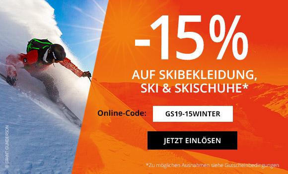 gigasport.at -15% auf Skibekleidung, Ski und Skischuhe + 2 Tageskarten zum Preis von Einer (Skigebiet Nassfeld)