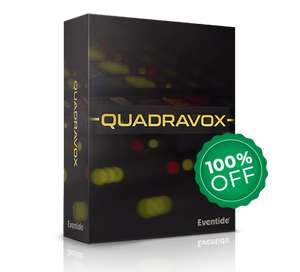 [Soundjäger] QUADRAVOX – 4 Voice Pitch Shifting Harmonizer Plugin von Eventide