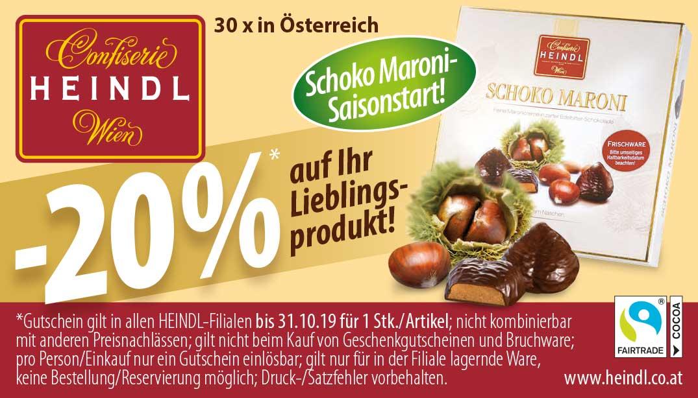 HEINDL -20% auf ein Lieblingsprodukt
