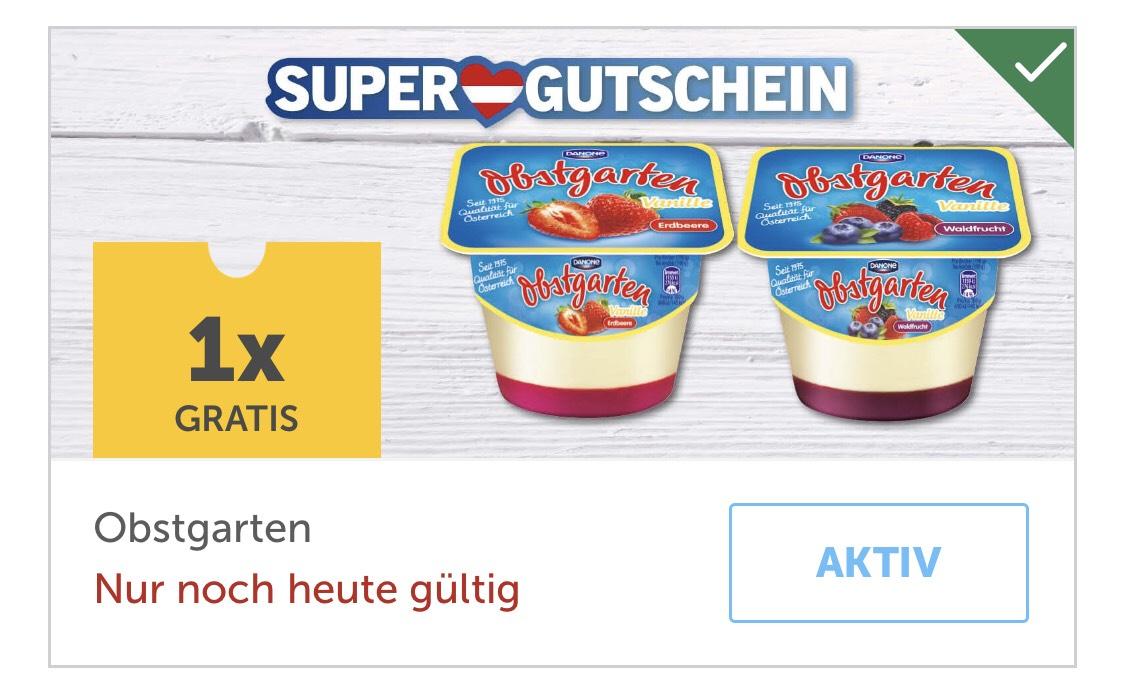 Lidl Plus App: 1 x Danone Obstgarten Gratis