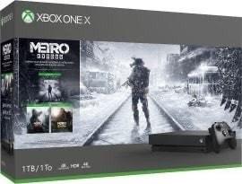 Microsoft Xbox One X - 1TB Metro Saga Bundle
