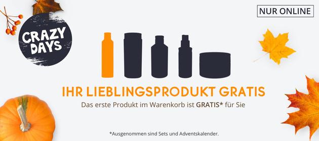 Das 1. Produkt im Warenkorb kostenlos