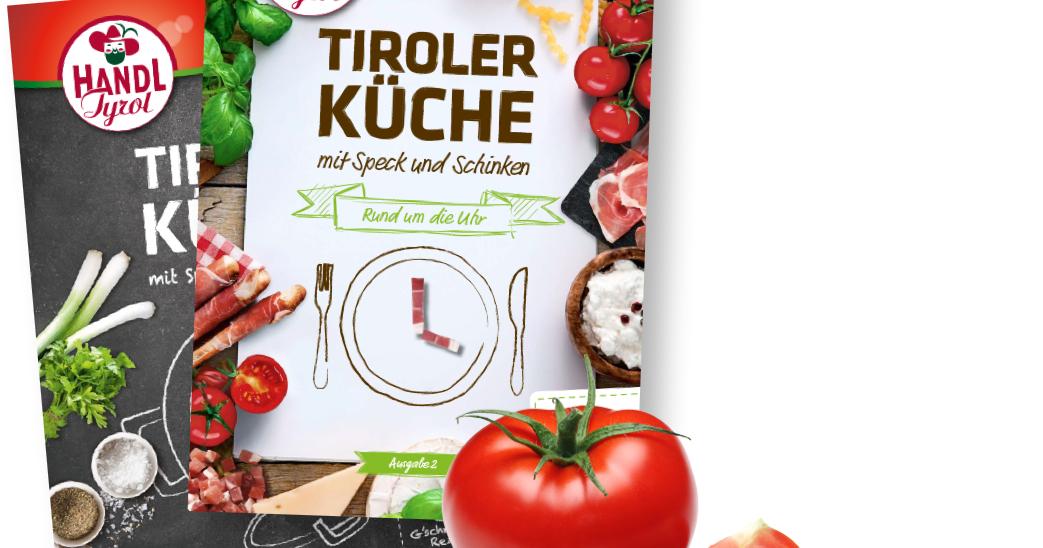 [Handl Tyrol] GRATIS Tiroler Küche Rezepthefte mit 36 Rezepten