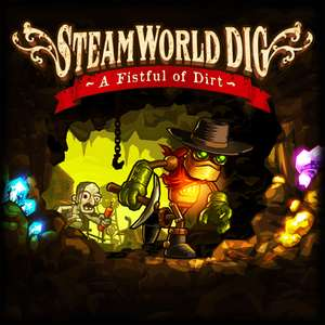 SteamWorld Dig für Nintendo Switch für 2,99 Euro (Wii U & 3DS Version jeweils 2,69 Euro)