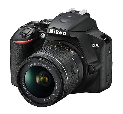 Nikon D3500 schwarz mit Objektiv AF-P VR DX 18-55mm 3.5-5.6G