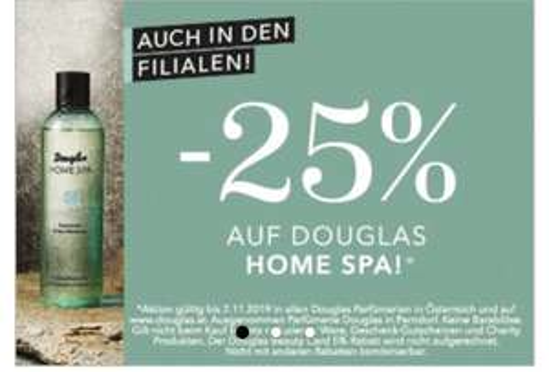 Douglas Home Spa -25%