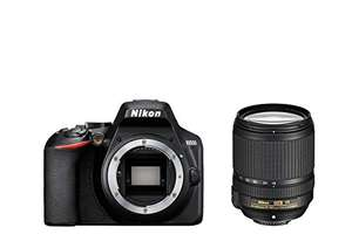 Nikon D3500 schwarz mit Objektiv AF-S VR DX 18-140mm 3.5-5.6G ED (VBA550K004)