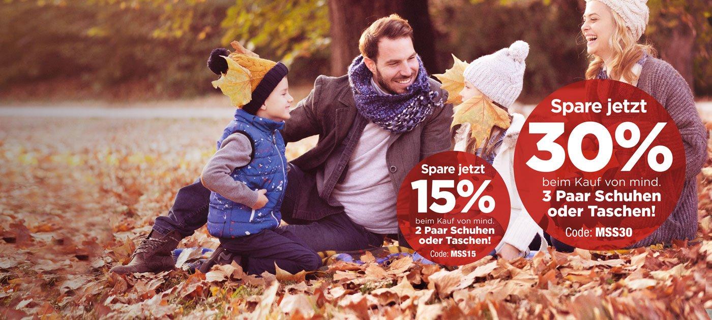 RENO: 15% bzw. 30% Rabatt auf Schuhe und Taschen (ab 2 Stück)