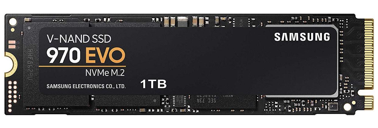 Samsung SSD 970 EVO 1TB, M.2 (MZ-V7E1T0BW)