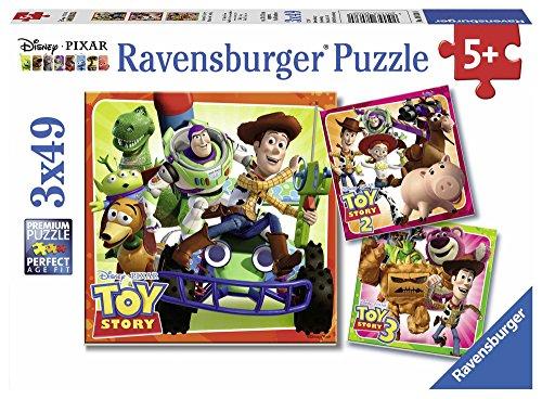 Preisjäger Junior: 3x 49-teilige Toy Story Puzzles