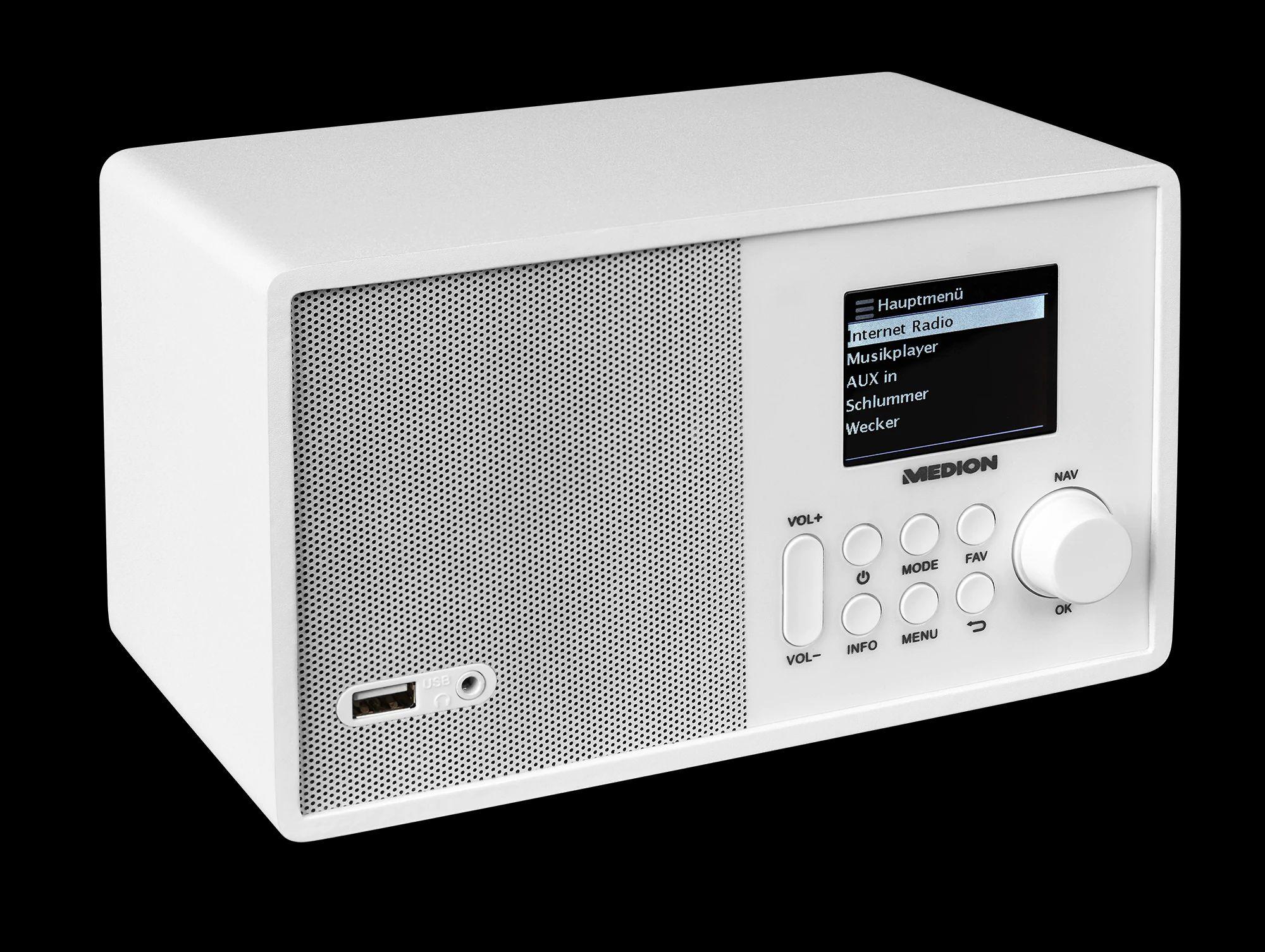 MEDION® E85040 WLAN Internet-Radio
