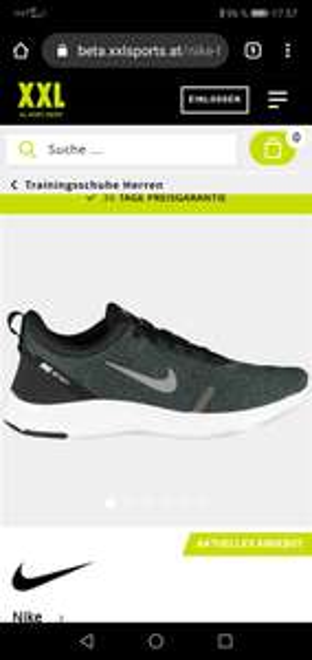 XXL SPORTS Nike herren freizeitschuh im Angebot