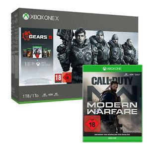 Microsoft Xbox One X 1TB Gears 5 Bundle + CoD Modern Warfare