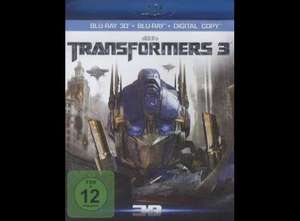 Transformers 3 3D (1 Blu-ray + 1 DVD + 1 Digital Copy)