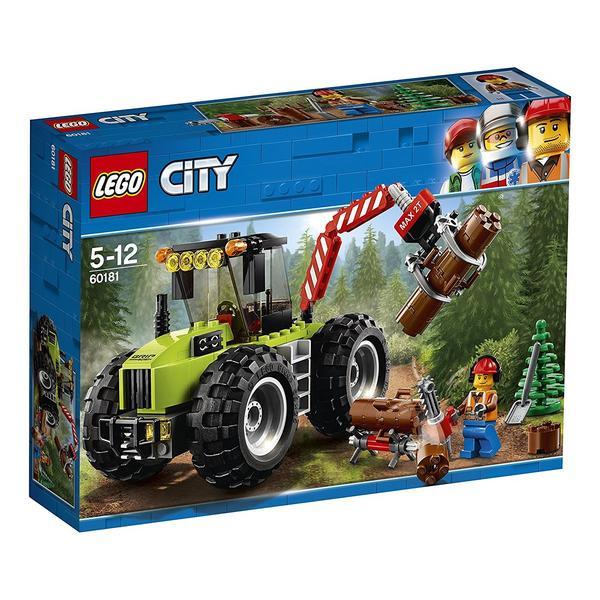 LEGO City Forsttraktor (60181) für 12,29€ bei Thalia
