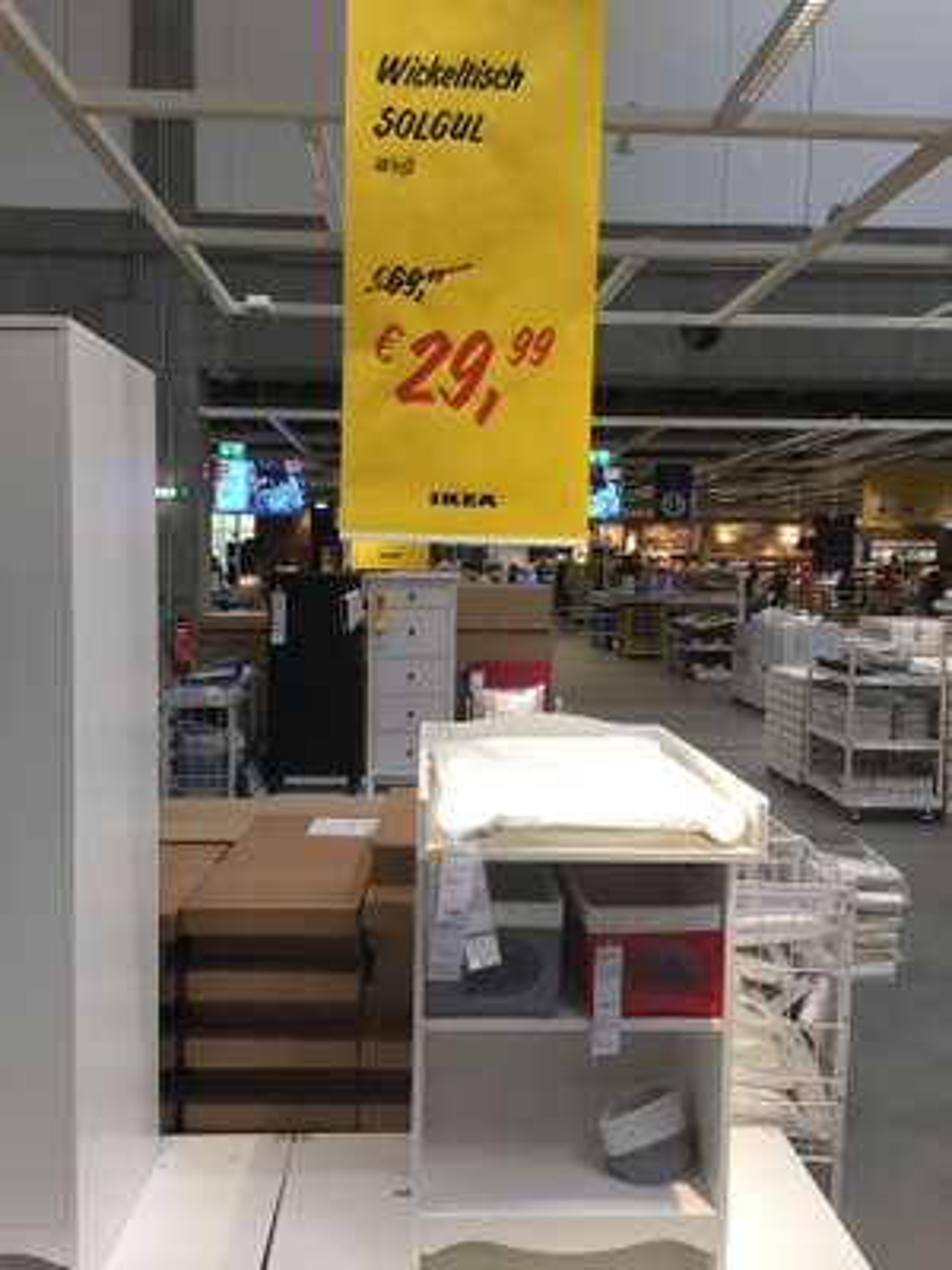 Ikea Solgul Wickeltisch Weiß