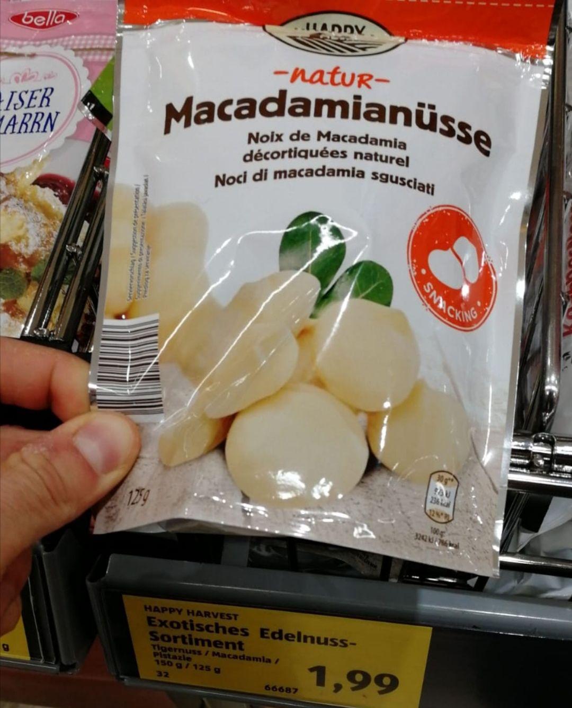 [Hofer] 125g Macadamia Nuss / Pistazien (Lokal 1200 Wien) Abverkauf