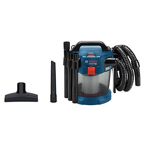 Bosch Professional Akku-Staubsauger GAS 18V-10 L Volumenstrom max. (Turbine): 24 l/sec, 1,6 m Schlauch, 18 Volt System)