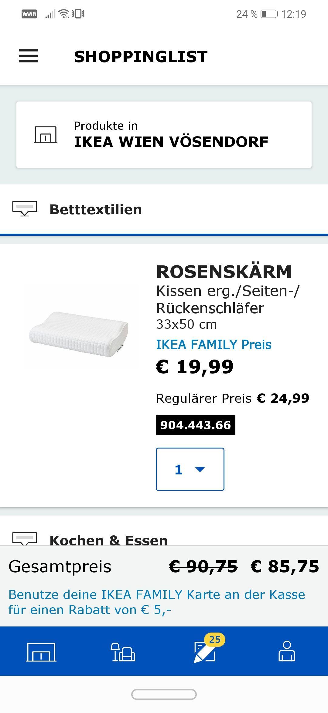 Ikea 5 € auf deinen nächsten einkauf