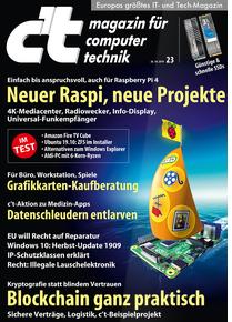 c't 6 Ausgaben für effektiv 7,80 EUR