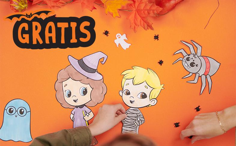Halloween Druckvorlagen kostenlos