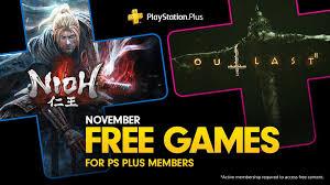 PlayStation Plus Spiele im November: Nioh & Outlast 2