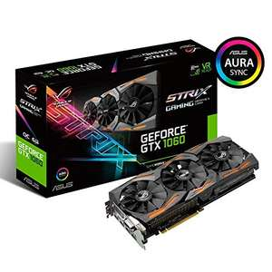 AMAZON.de Händler okluge l ASUS ROG Strix GeForce GTX 1060 Advanced, ROG-STRIX-GTX1060-A6G-GAMING, 6GB GDDR5