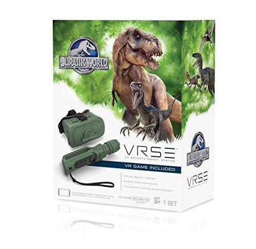 Goliath VR Brille Jurassic Park kompatibel mit Smartphones bis 6,2 Zoll inkl. Motion Joystick
