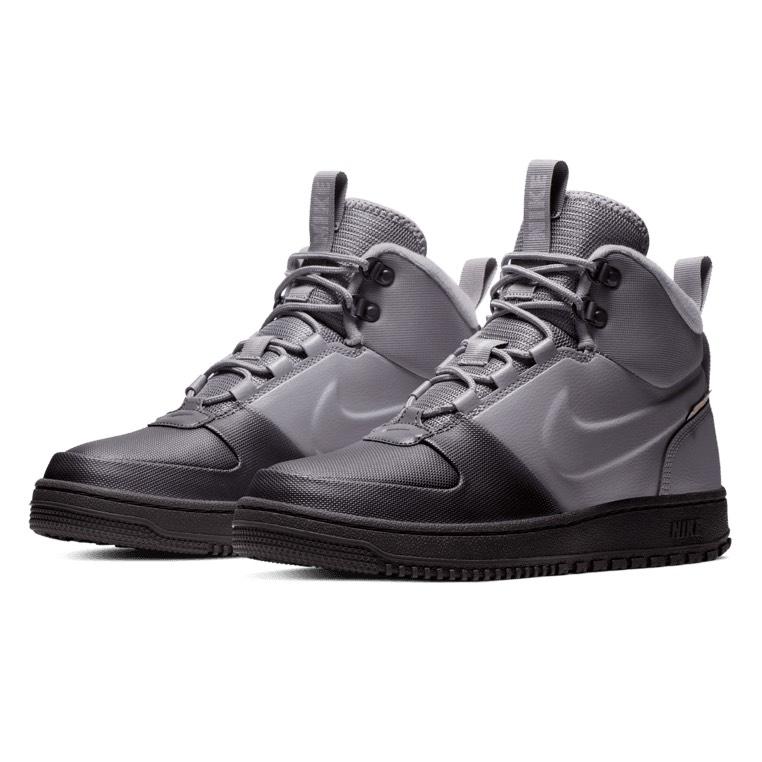 Nike Winterschuh Path grau/schwarz oder schwarz
