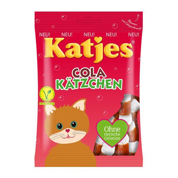 Marktguru: 1€ Cashback auf Katjes (ab 2 Stück) - z.B. 2x Katjes Cola Kätzchen um 0,78€
