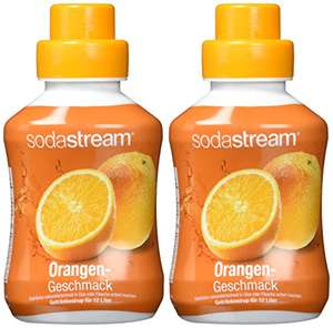 Sodastream 2er Pack Sirup - Orange oder Cola