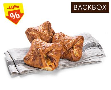 Backbox Zartsplittrige Butter-Topfengolatsche