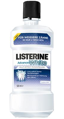 Listerine Advanced White 500 ml (versandkostenfrei ab €45)