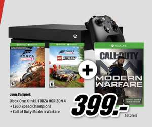 [MediaMarkt] Xbox One X 1TB Bundle Call of Duty + Forza Horizon 4 + Lego Speed