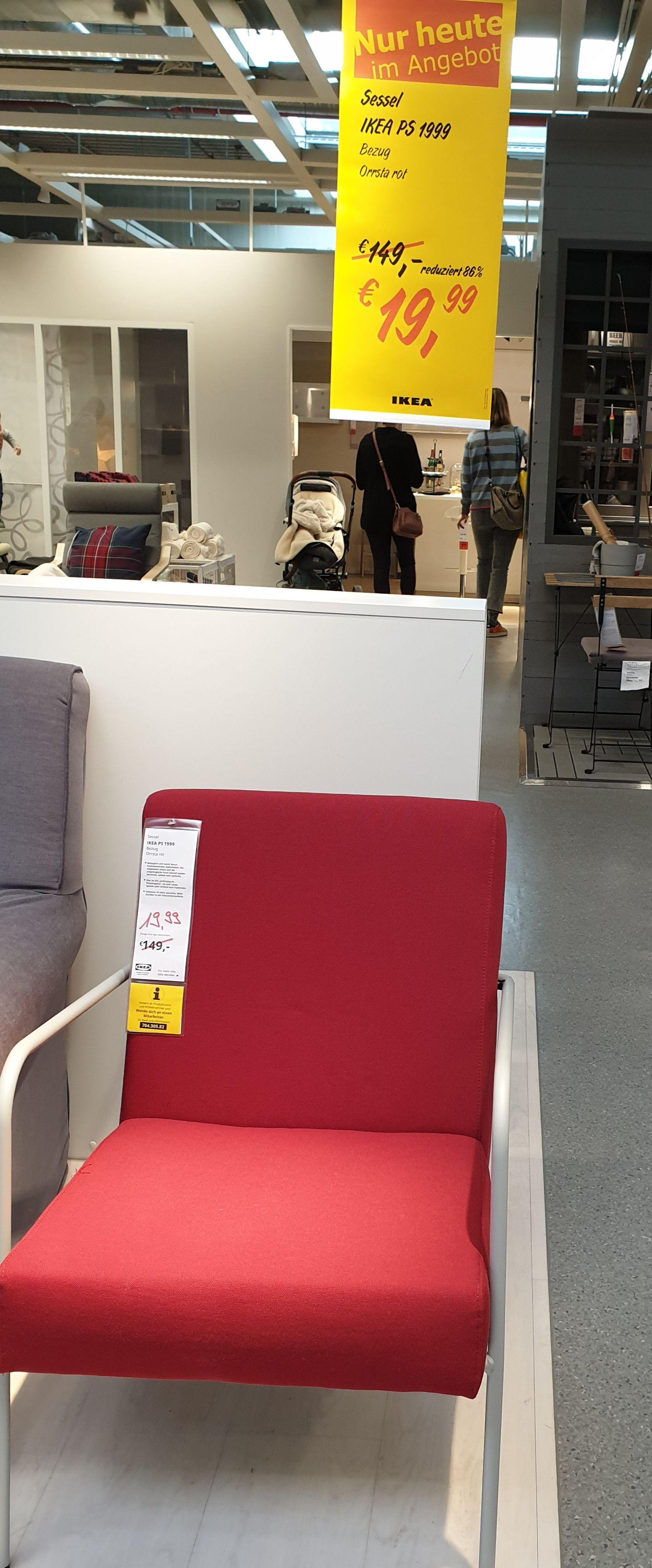 IKEA PS Sessel 1999 / IKEA Salzburg