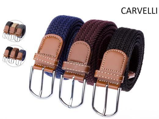 3x Carvelli Gürtel | elastisch