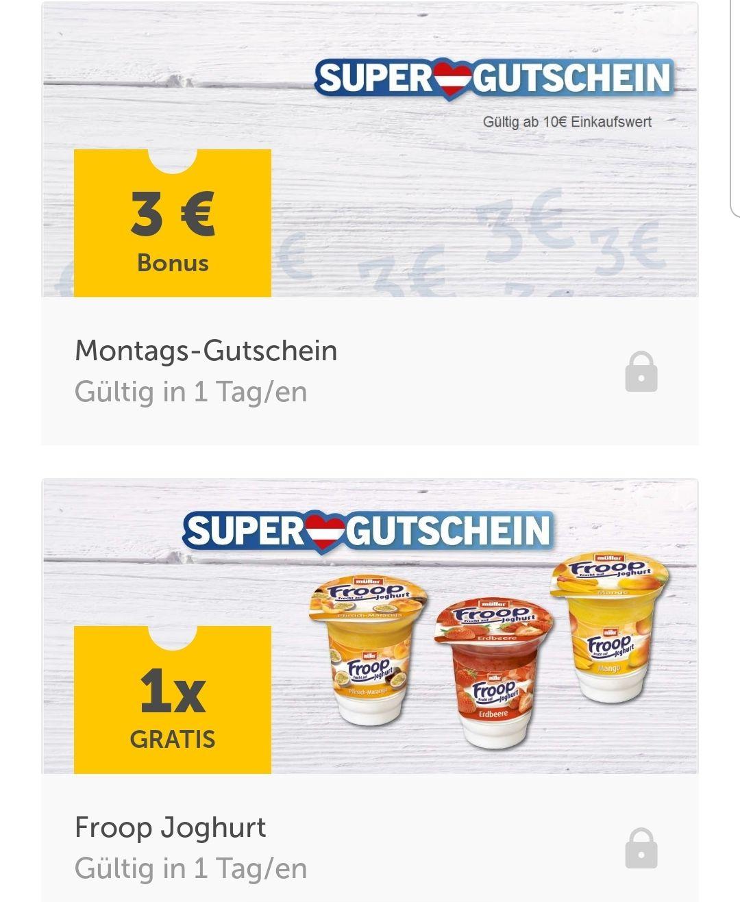Lidl Plus ab Montag gratis Froop Joghurt und 3€ Gutschein