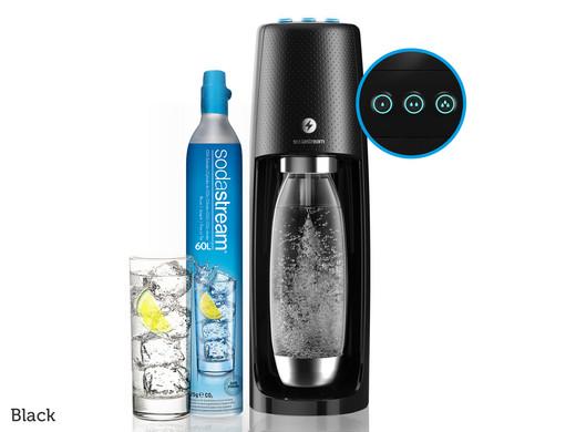 SodaStream Spirit One Touch inkl. 4 Flaschen + 4 Gläser