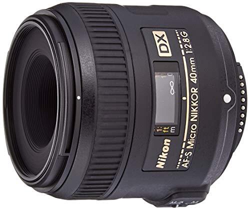 Nikon 40 mm/F 2,8 G AF-S DX MICRO-40 mm Objektiv (Nikon F-Anschluss)
