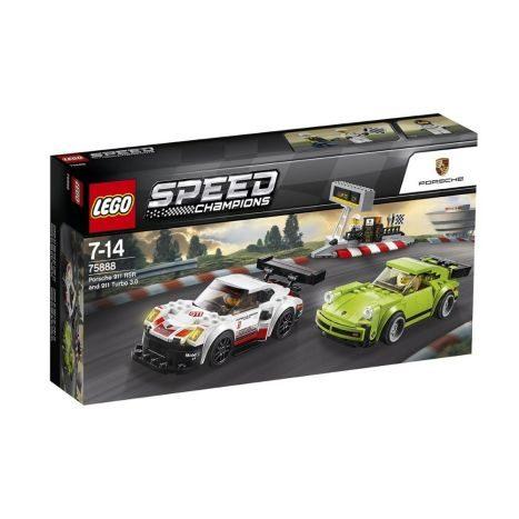 LEGO Speed Champions - Porsche 911 RSR und 911 Turbo 3.0 (75888)