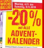 [Maximarkt] -20% auf Adventkalender