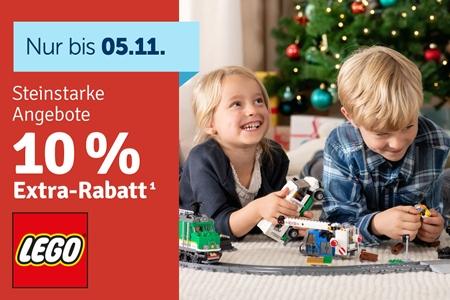 myToys.at -10% Extra-Rabatt auf LEGO® zum Lego-Tag