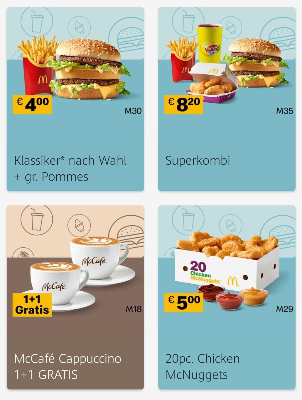 McDonalds: Neue Gutscheine in der App