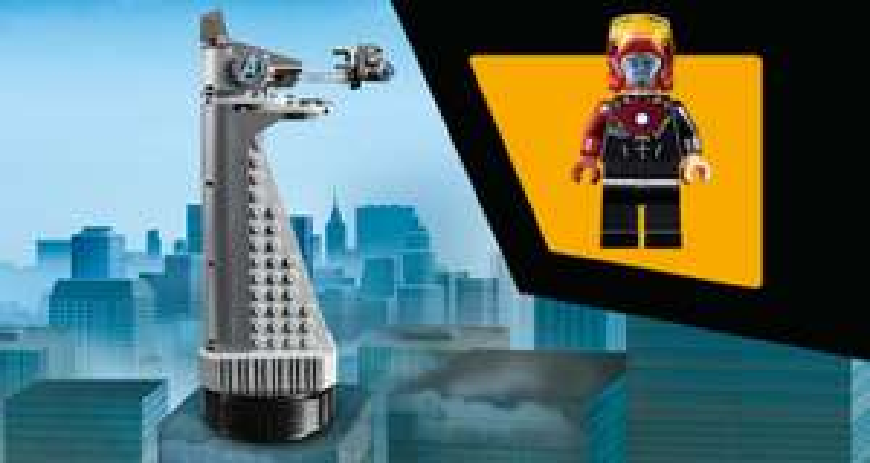 -LEGO- GRATIS Avengers Tower ab 75€ MBW. Versandkostenfrei