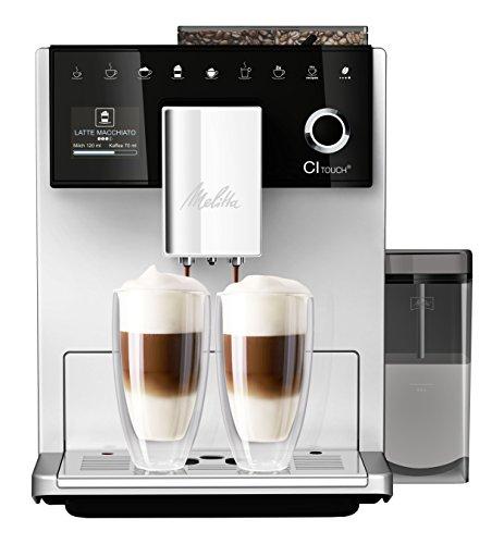 Melitta Touch-Kaffeevollautomat Silber
