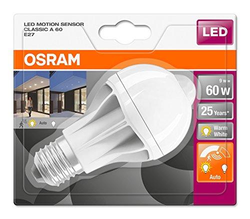 6er Pack Osram LED Star+ Motion Sensor (Mit Bewegungssensor)