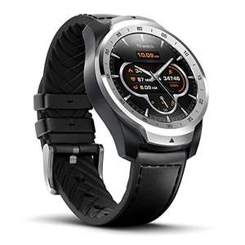 Ticwatch Pro Smartwatch silber